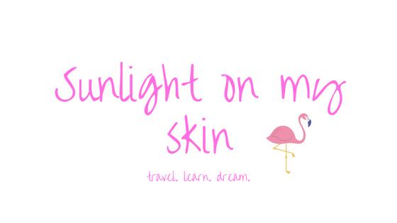 Sunlight on my skin